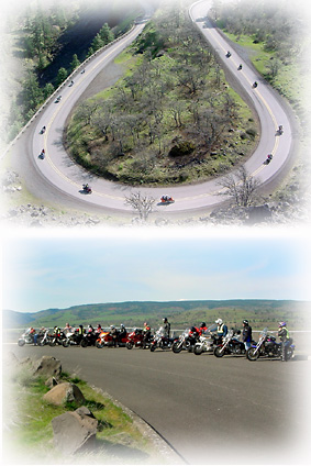Members Riding On Rowena Loop